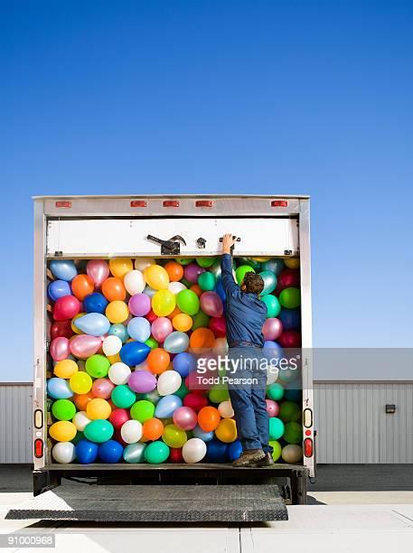 Closing the Truck Door