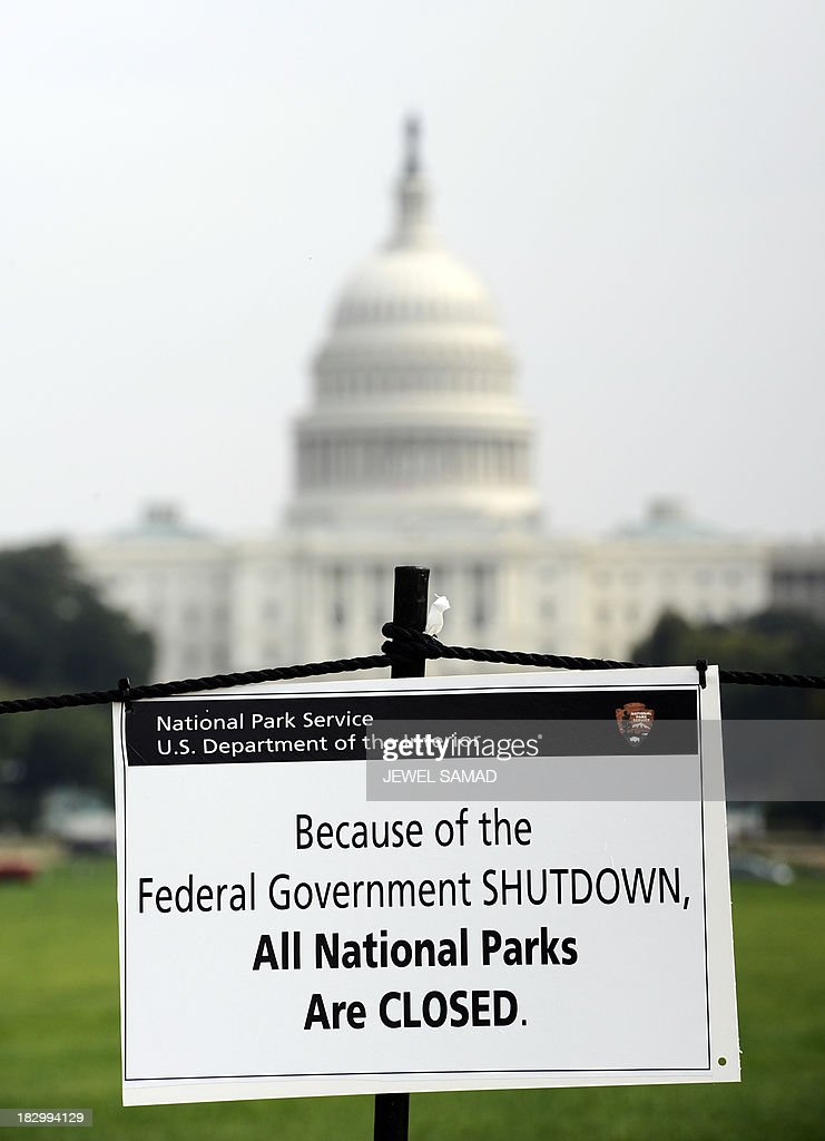 Government Shutdowns in Pictures