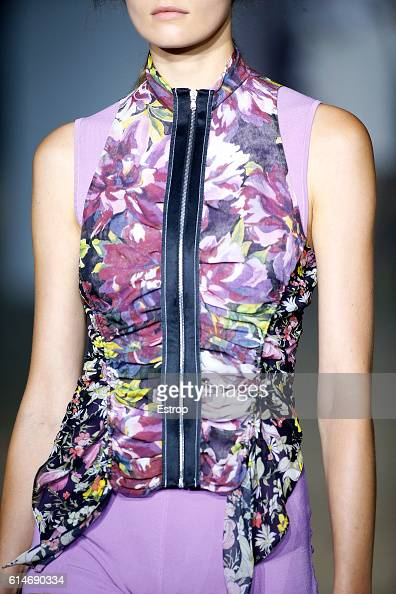 Cloth detail at the 31 Phillip Lim show at Skylight Clarkson North on September 12 2016 in New York City