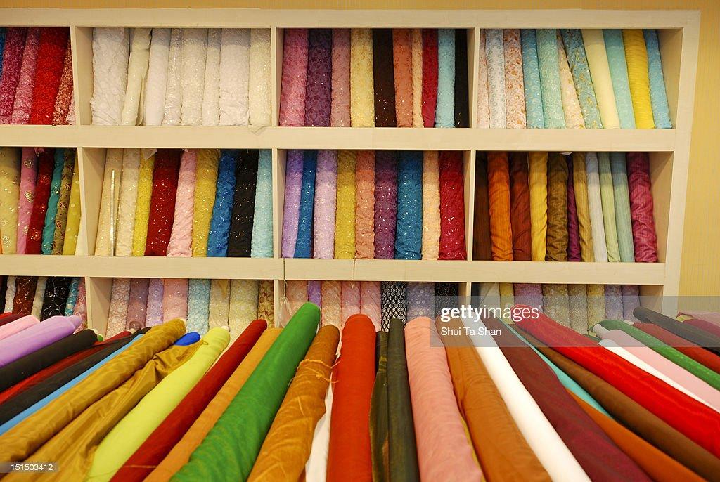 Cloth roll : Stock Photo
