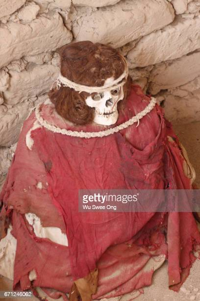 Clothed Mummy in Chauchilla cemetery