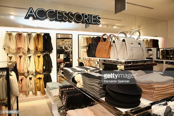Clothes are displayed during the opening of the 'FOREVER 21' flagship store on Pitt Street on June 10 2015 in Sydney Australia