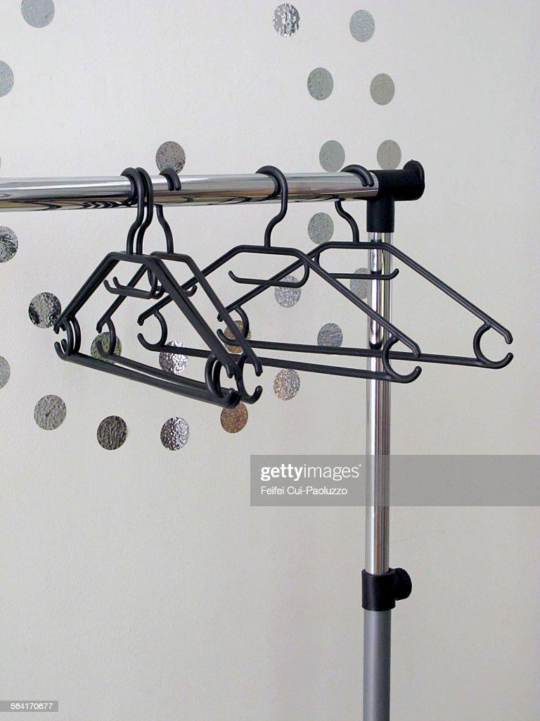 Clothes hanger and portemanteau