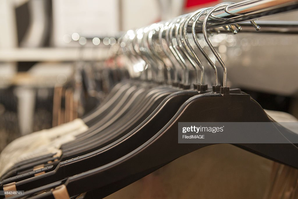 Clothes Hangers : Stock Photo