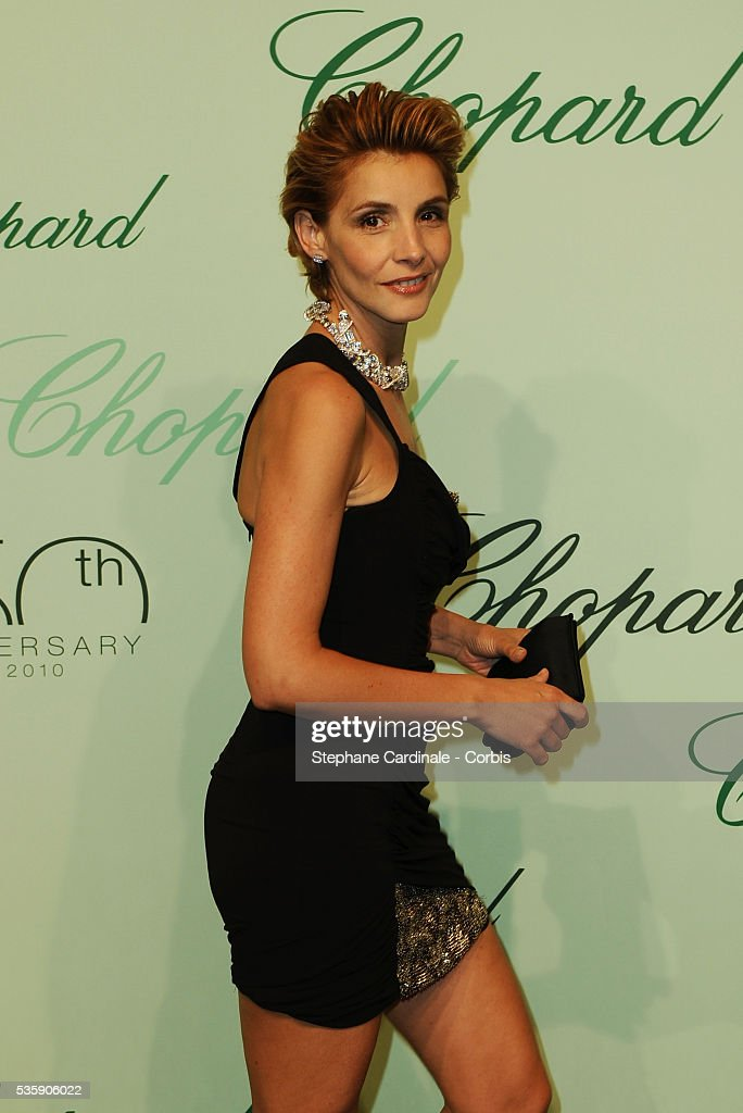Clothilde Courau at the 'Chopard 150th Anniversary Party' during the 63rd Cannes International Film Festival.