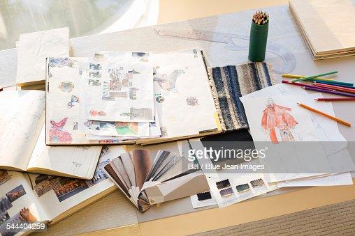 Clothing design studio
