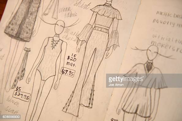 Clothing designs from Molly OBrien 17 a senior at Rocky Mountain High School in Fort Collins OBrien operates her fashion line under her label Molly...