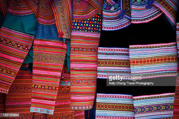 Clothing for flower hmong women