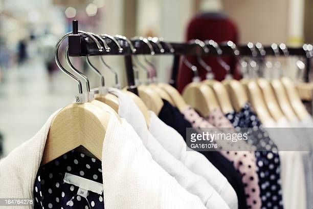 Clothing in Fashion Store