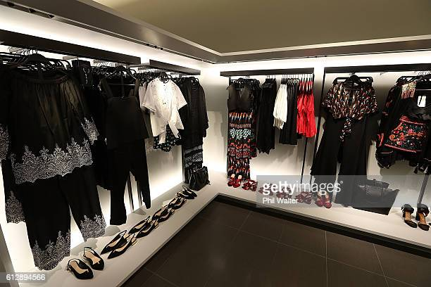 Clothing is displayed before the opening of New Zealand's first Zara store at Sylvia Park on October 6 2016 in Auckland New Zealand