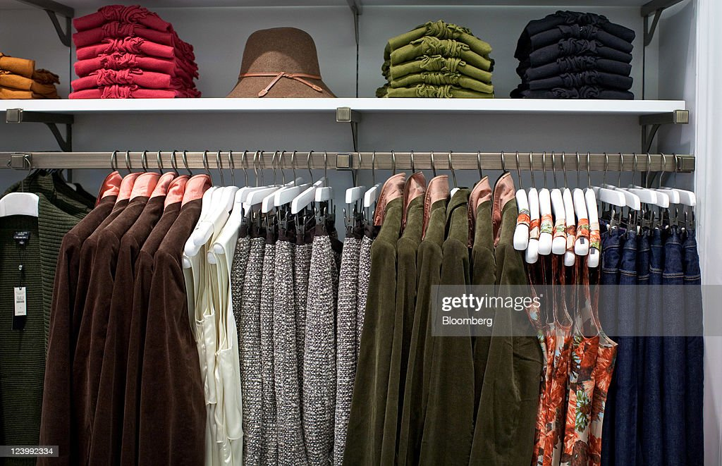 Clothing Is Displayed For Sale At A Talbots Inc. Store In The Westfield Garden  State