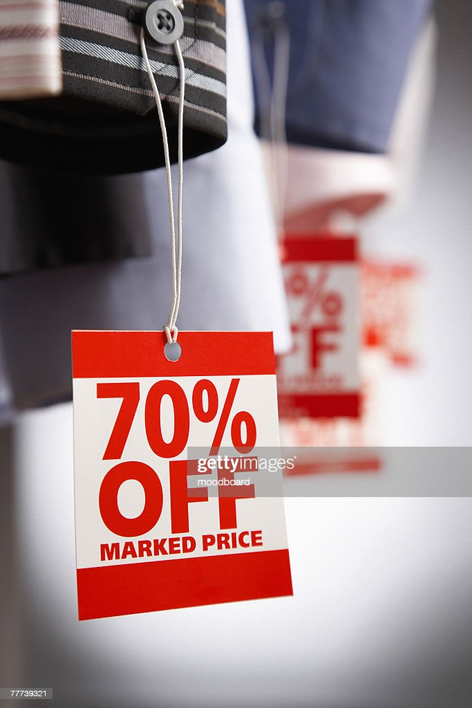 Clothing on Sale