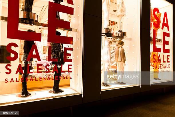 Clothing shop sales