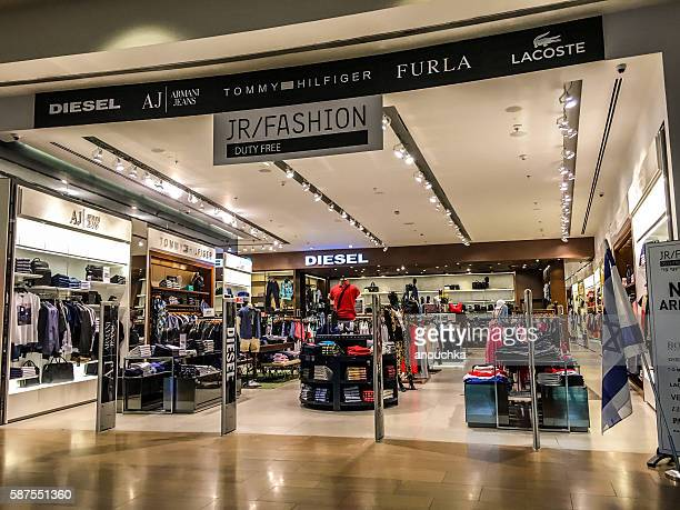 Clothing store in Ben Gurion Airport, Tel Aviv, Israel
