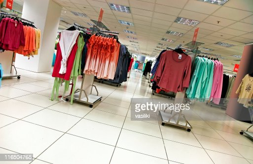 Getty clothing store