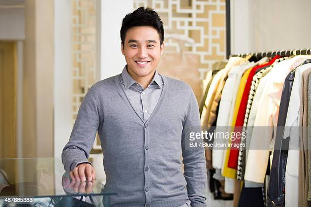 Clothing store owner