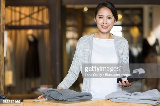 Clothing stores with credit cards