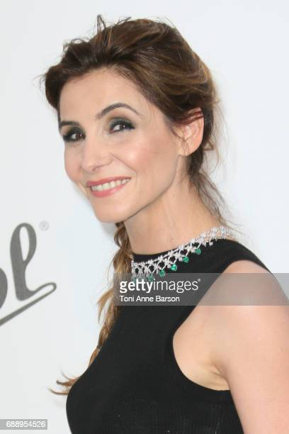 Clotilde Courau arrives at the amfAR Gala Cannes 2017 at Hotel du CapEdenRoc on May 25 2017 in Cap d'Antibes France