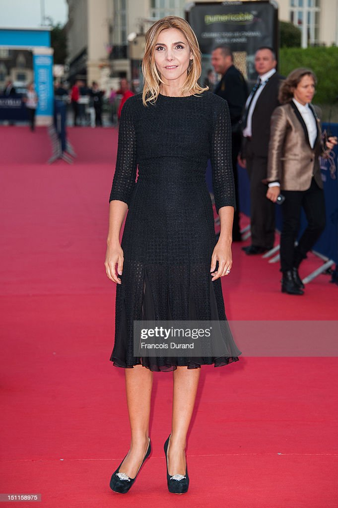Clotilde Courau arrives for the 'Killer Joe' Premiere during the 38th Deauville American Film Festival on September 2, 2012 in Deauville, France.