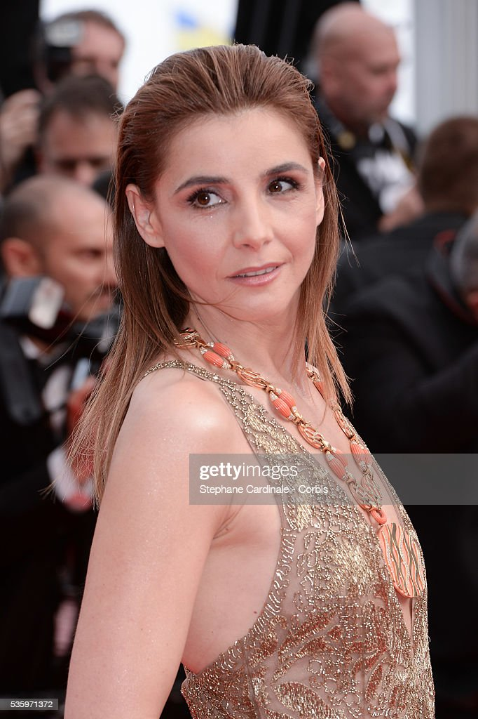 Clotilde Courau at the 'The Search' Premiere during 67th Cannes Film Festival