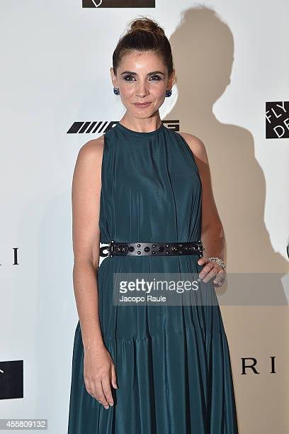 Clotilde Courau attends amfAR Milano 2014 during Milan Fashion Week Womenswear Spring/Summer 2015 on September 20 2014 in Milan Italy