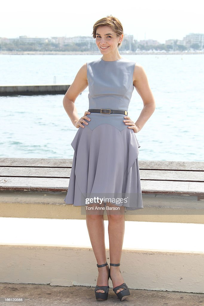 Clotilde Courau attends 'La Source' Photocall on the Croisette during the 50th MIPTV on April 8, 2013 in Cannes, France.