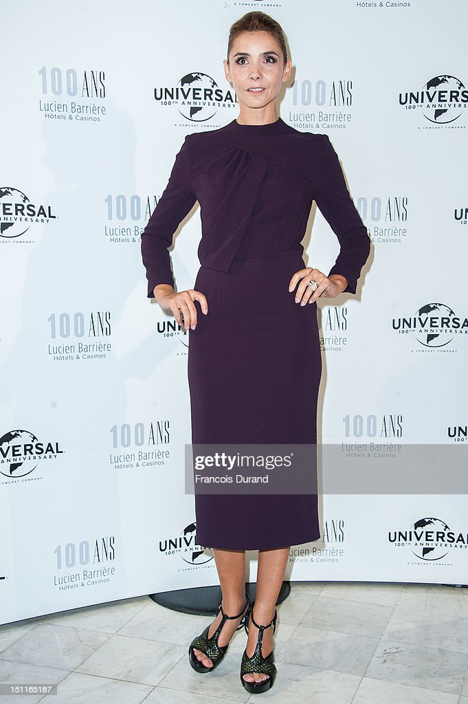 Clotilde Courau attends the 100th anniversary of Universal and Lucien Barriere at Royal Barriere hotel during the 38th Deauville American Film Festival on September 1, 2012 in Deauville, France.