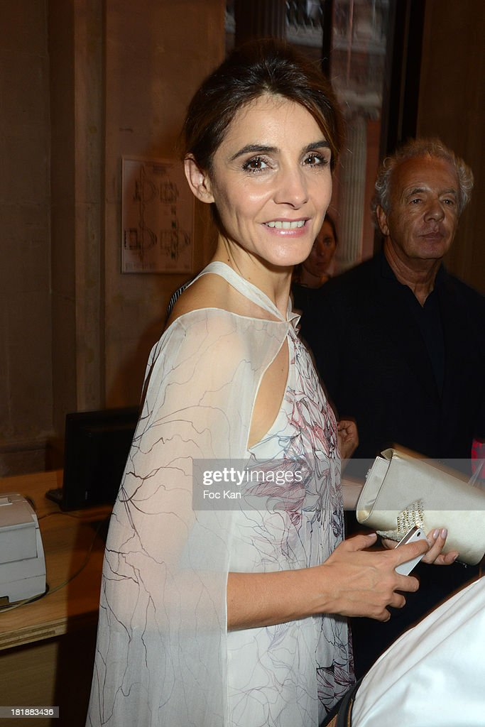 <a gi-track='captionPersonalityLinkClicked' href=/galleries/search?phrase=Clotilde+Courau&family=editorial&specificpeople=171279 ng-click='$event.stopPropagation()'>Clotilde Courau</a> attends the Azzedine Alaia Exhibition : At Palais Galliera, Fashion Museum In Paris on September 25, 2013 in Paris, France.
