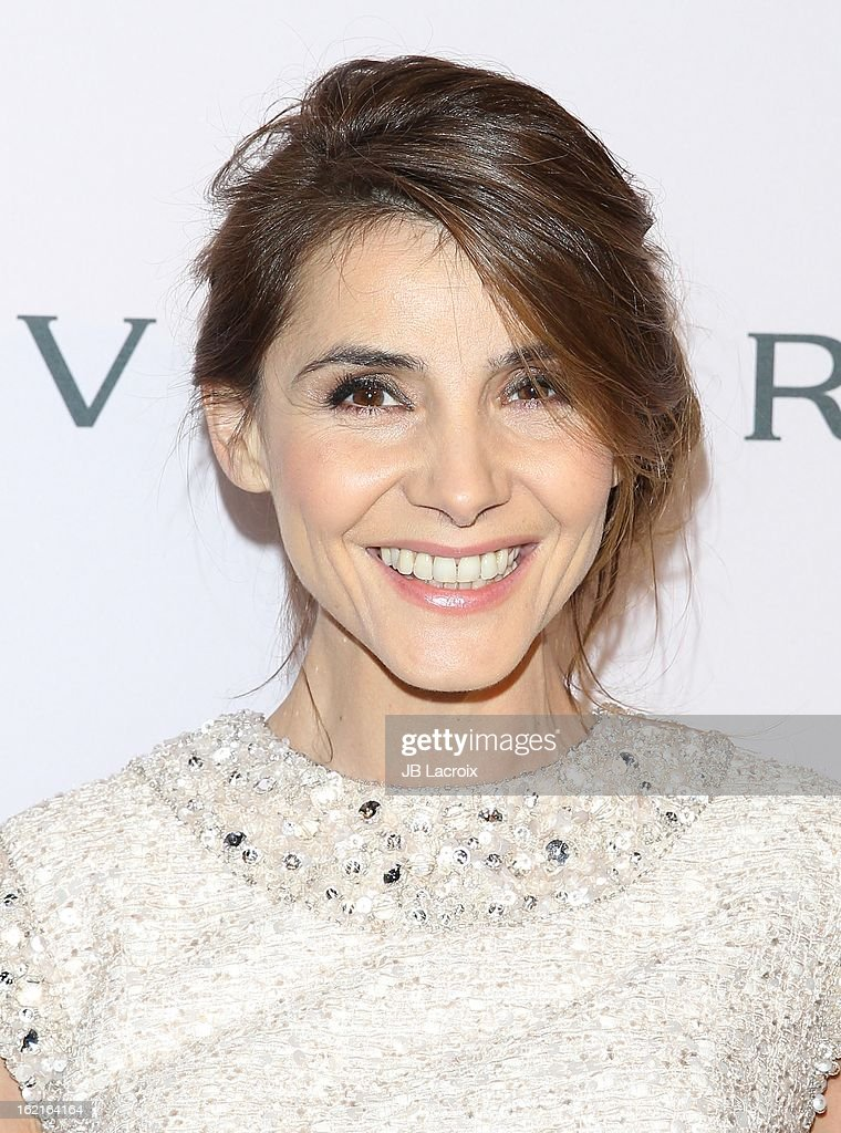 Clotilde Courau attends the BVLGARI celebration of Elizabeth Taylor's collection of BVLGARI jewelry at Bvlgari Beverly Hills on February 19, 2013 in Beverly Hills, California.