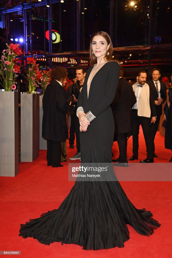 Clotilde Courau attends the 'Django' premiere during the 67th Berlinale International Film Festival Berlin at Berlinale Palace on February 9, 2017 in Berlin, Germany.
