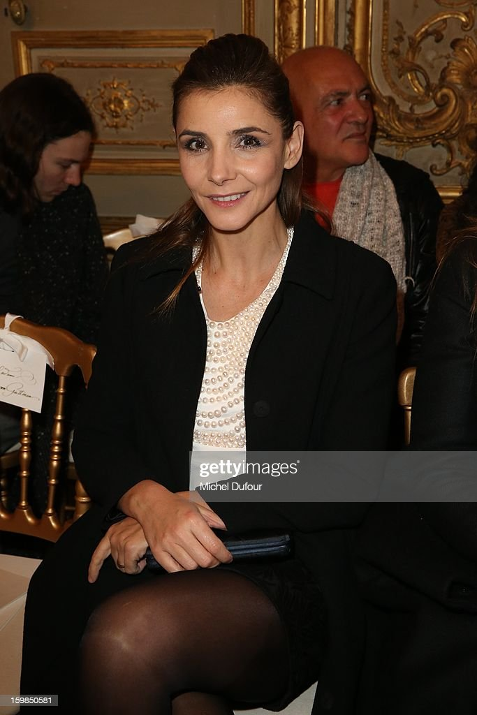 <a gi-track='captionPersonalityLinkClicked' href=/galleries/search?phrase=Clotilde+Courau&family=editorial&specificpeople=171279 ng-click='$event.stopPropagation()'>Clotilde Courau</a> attends the Giambattista Valli Spring/Summer 2013 Haute-Couture show as part of Paris Fashion Week at on January 21, 2013 in Paris, France.