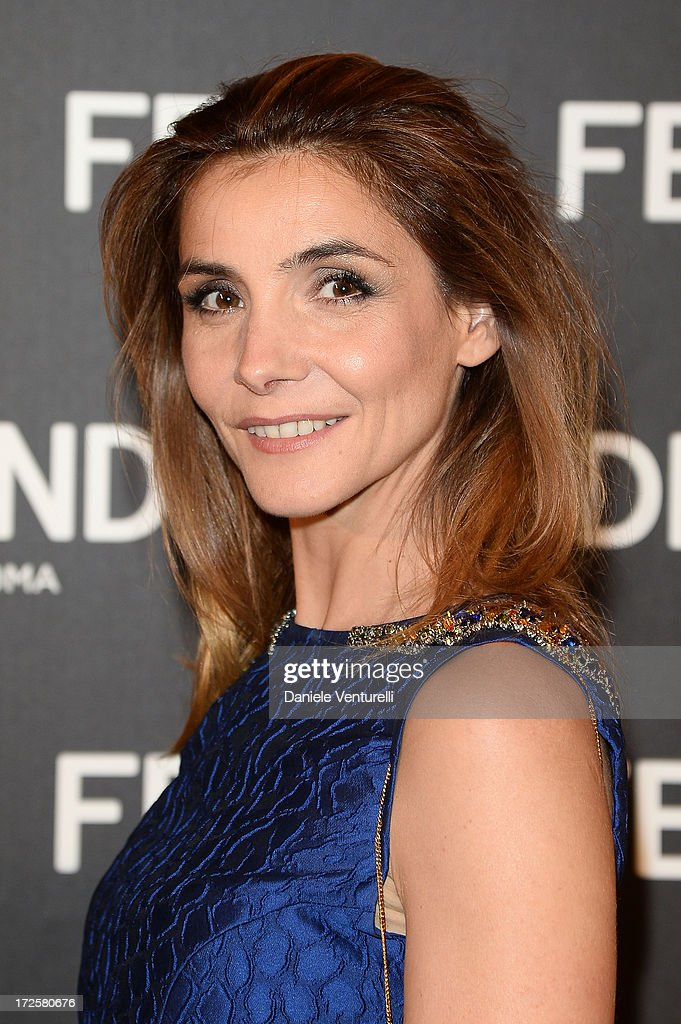 Clotilde Courau attends 'The Glory Of Water' Karl Lagerfeld's Exhibition Preview on July 3, 2013 in Paris, France.