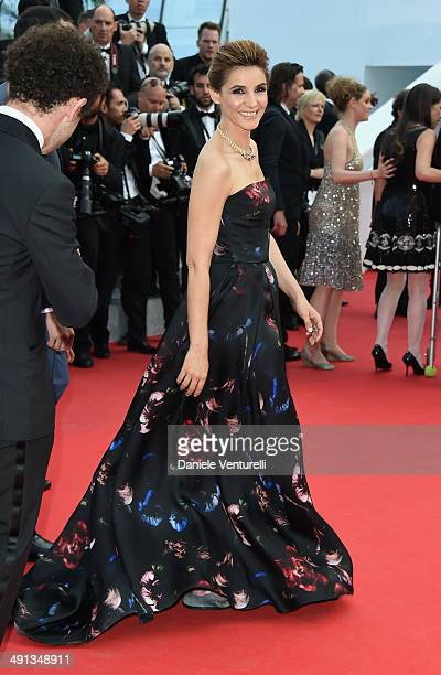 Clotilde Courau attends the 'How To Train Your Dragon 2' Premiere at the 67th Annual Cannes Film Festival on May 16 2014 in Cannes France