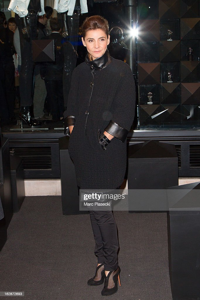 Clotilde Courau attends the Karl Lagerfeld's Concept Store Opening as part of Paris Fashion Week on February 28, 2013 in Paris, France.