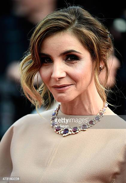 Clotilde Courau attends the opening ceremony and premiere of 'La Tete Haute' during the 68th annual Cannes Film Festival on May 13 2015 in Cannes...