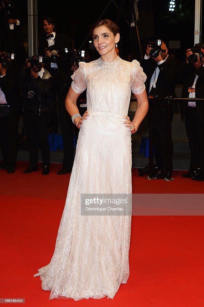 Clotilde Courau attends the Premiere of 'La Grande Bellezza' (The Great Beauty) during The 66th Annual Cannes Film Festival at Palais des Festivals on May 21, 2013 in Cannes, France.