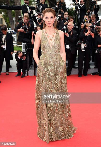 Clotilde Courau attends 'The Search' Premiere at the 67th Annual Cannes Film Festival on May 21 2014 in Cannes France