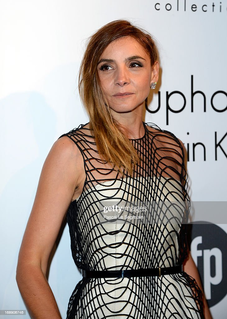 Clotilde Courau, attends the The IFP, Calvin Klein Collection & Euphoria Calvin Klein Celebrate Women In Film At The 66th Cannes Film Festival on May 16, 2013 in Cannes, France.