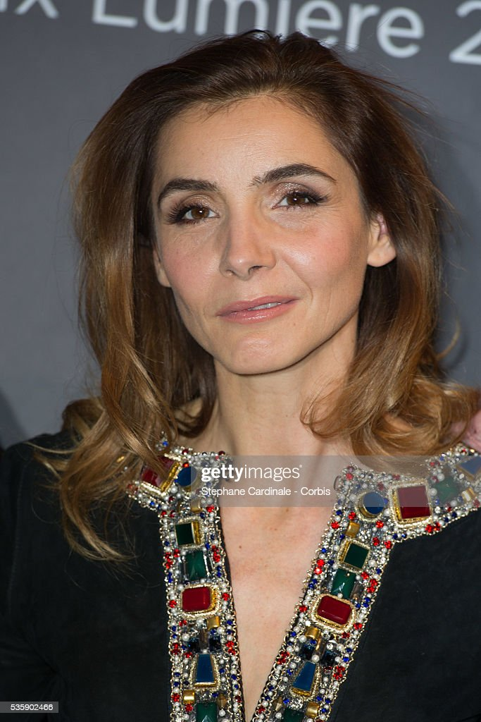 Clotilde Courau attends the Tribute to Quentin Tarantino, during the 5th Lumiere Film Festival, in Lyon.