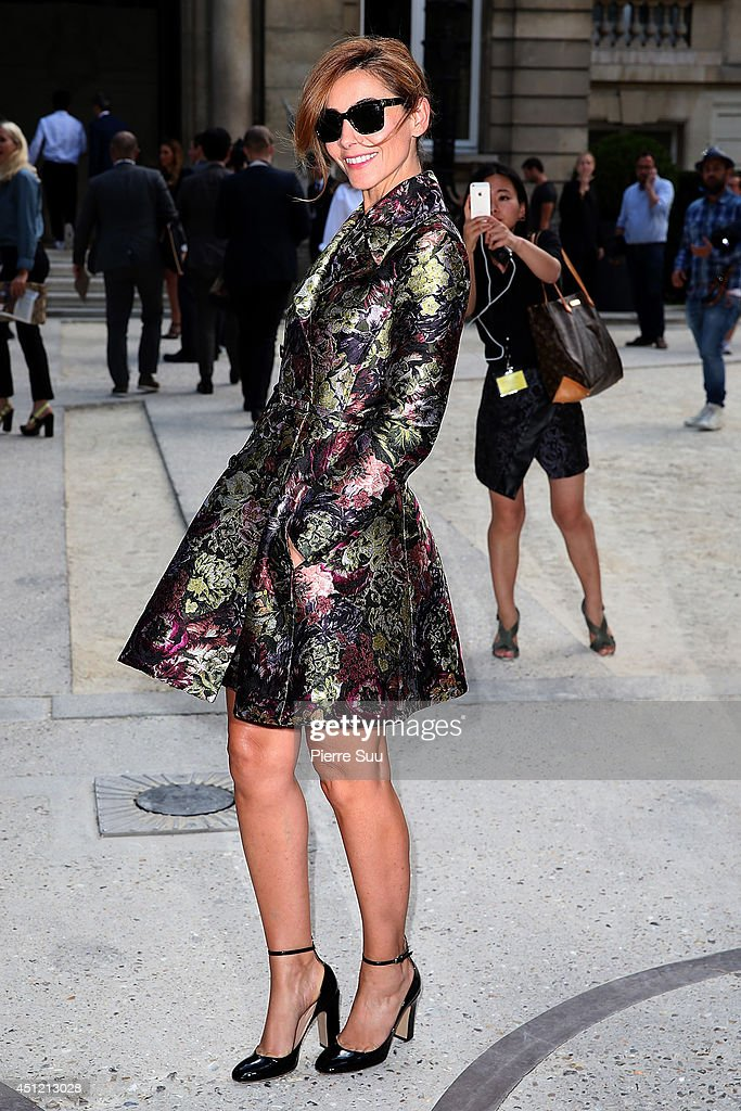 <a gi-track='captionPersonalityLinkClicked' href=/galleries/search?phrase=Clotilde+Courau&family=editorial&specificpeople=171279 ng-click='$event.stopPropagation()'>Clotilde Courau</a> attends the Valentino show as part of the Paris Fashion Week Menswear Spring/Summer 2015 on June 25, 2014 in Paris, France.
