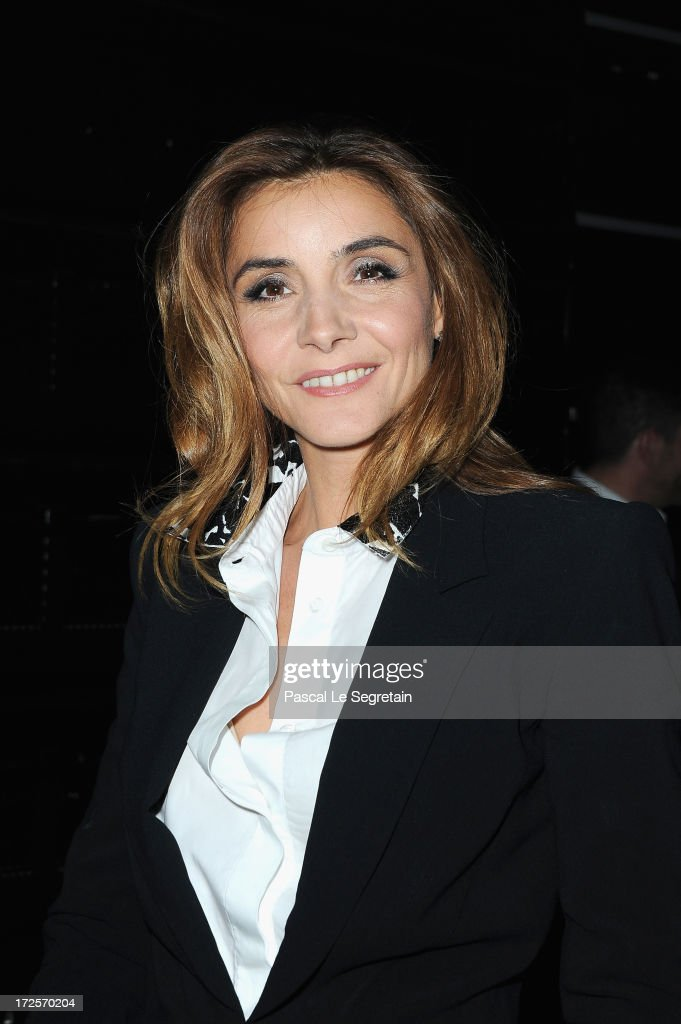 Clotilde Courau attends the Viktor&Rolf show as part of Paris Fashion Week Haute-Couture Fall/Winter 2013-2014 at La Gaite Lyrique on July 3, 2013 in Paris, France.