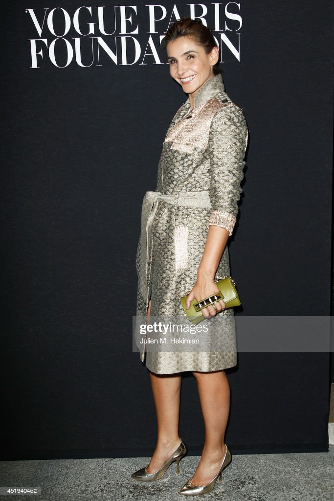 Clotilde Courau attends the Vogue Foundation Gala as part of Paris Fashion Week at Palais Galliera on July 9, 2014 in Paris, France.