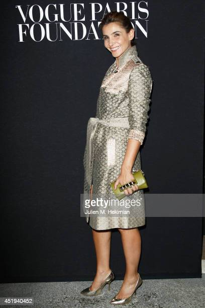 Clotilde Courau attends the Vogue Foundation Gala as part of Paris Fashion Week at Palais Galliera on July 9 2014 in Paris France