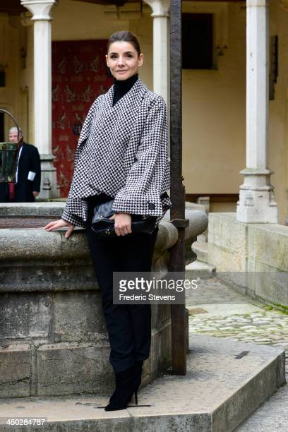 Clotilde Courau during the 153rd Hospices de Beaune wine auction celebration on November 17 2013 in Beaune France