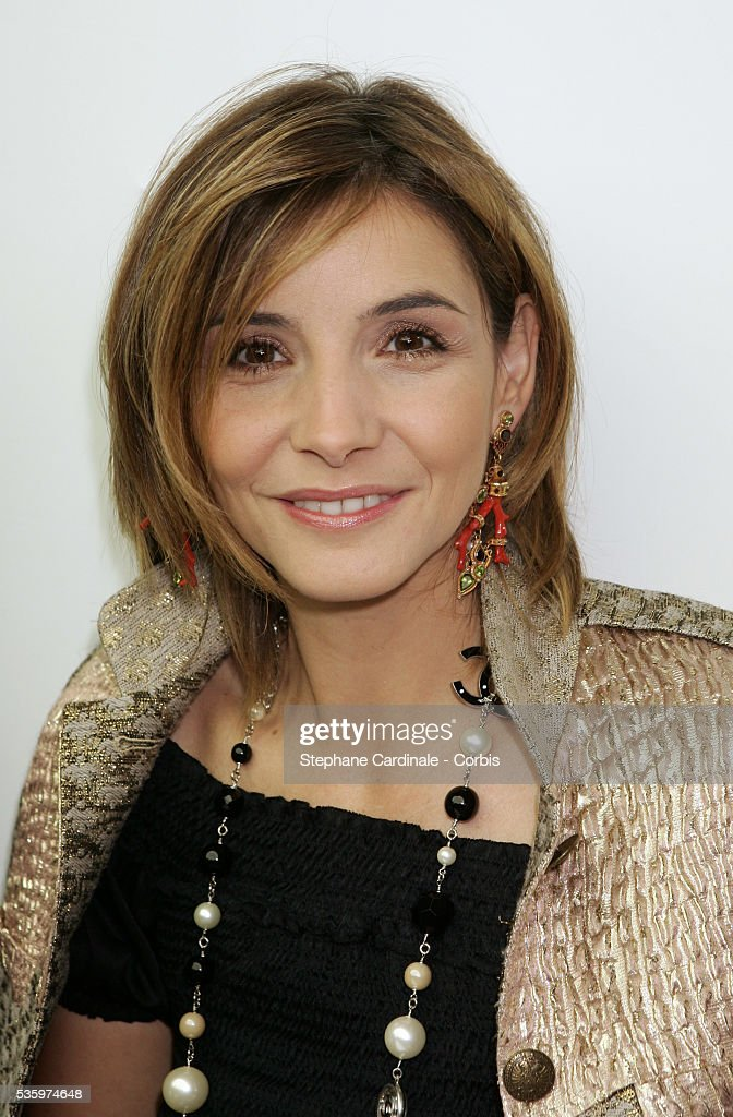 Clotilde Coureau attends the Chanel 'Haute Couture' 2005-2006 Fall/Winter fashion collection.