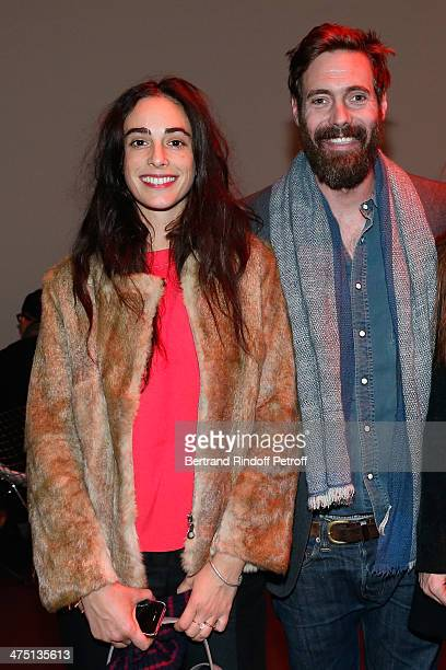 Clotilde d'Urso and Arthur de Kersauson attend LVMH Prize SemiFinalists Designers Cocktail Party on February 26 2014 in Paris France