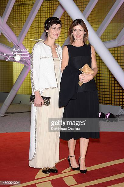 Clotilde Hesme and Alix Delaporte attend the Jury Photocall during the 14th Marrakech International Film Festival on December 5 2014 in Marrakech...