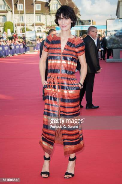 Clotilde Hesme arrives at the opening ceremony of the 43rd Deauville American Film Festival on September 1 2017 in Deauville France