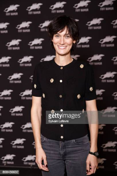 Clotilde Hesme attends 32nd Namur International FrenchLanguage Film on October 6 2017 in Namur Belgium