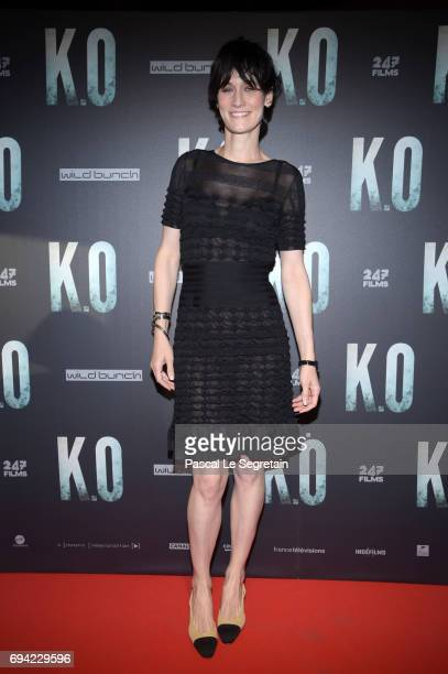 Clotilde Hesme attends KO Premiere at Gaumont Capucines on June 9 2017 in Paris France